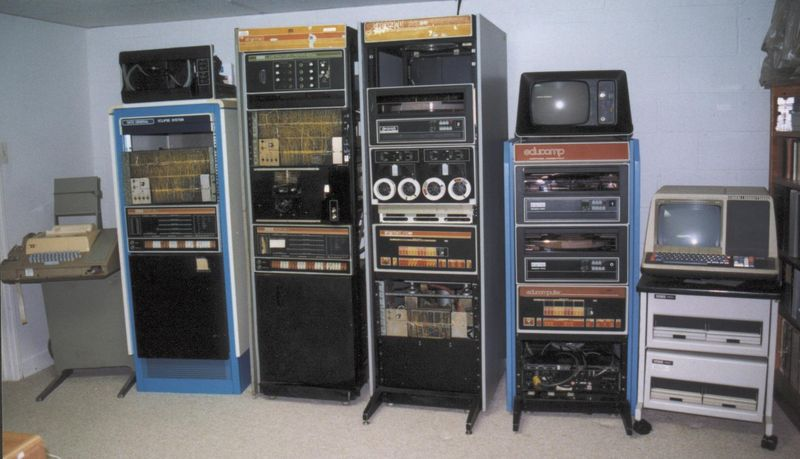 Picture of old servers