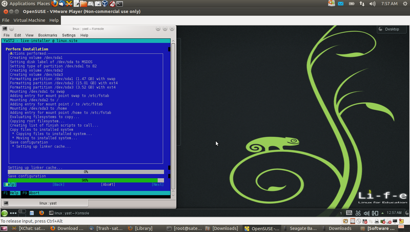 Opensuse install in VMplayer.png