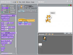 Screenshot of Sugar version of Scratch.png