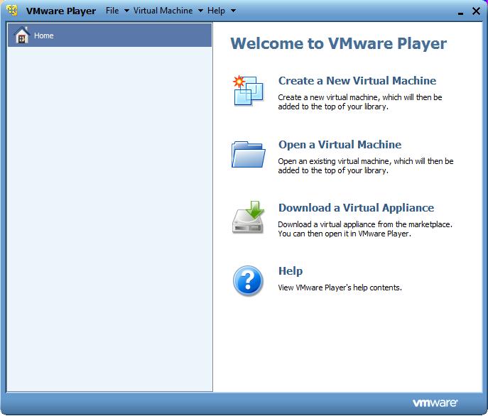 Tutorials/Installation/Run SoaS with VMware Player in