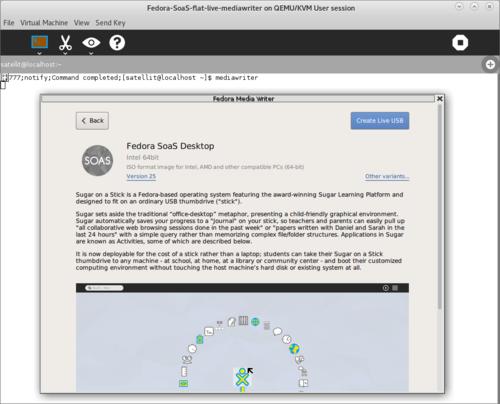 Fedora 24 - Sugar Labs