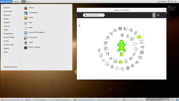 openSUSE - Sugar Labs